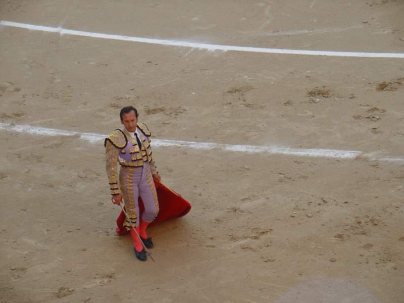 Carlos Escolar Frascuelo el 5 de octubre de 2.008 en las Ventas