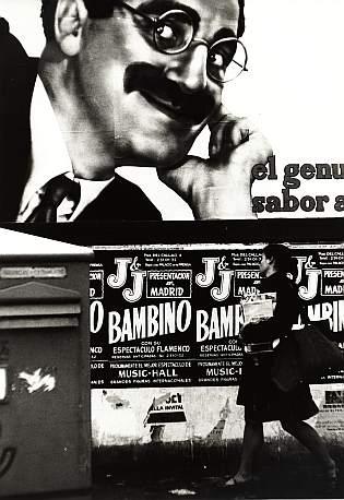 Cartel de la presentacion de Bambino en Madrid
