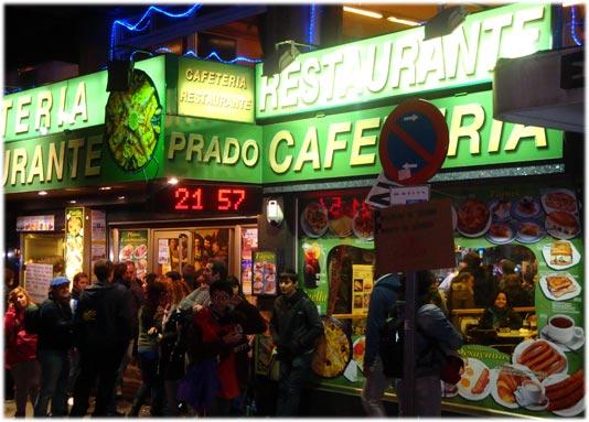 Cafetería Prado 25S #trainsong joven muerto por arrollamiento en Leganés