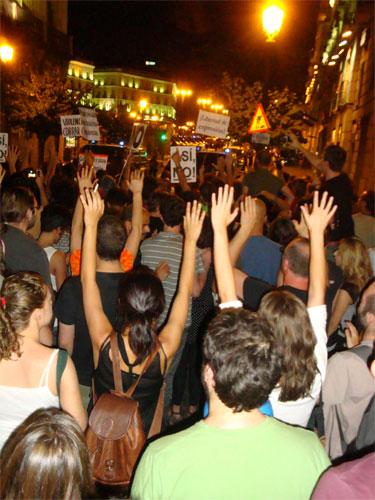 @acampadapolicia #plazatomada #15m rueda hamsters enloquecidos