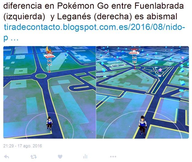 Pokémos GO Leganés Vs Fuenlabrada
