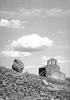 Ermita bajo el castillo de Gormaz, Soria
