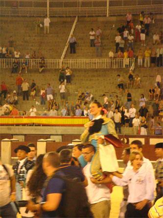 Triunfo memorable de Conchi Ríos en las Ventas