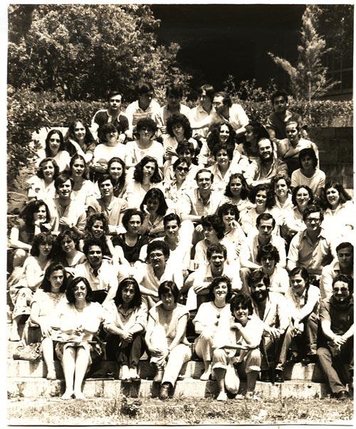 Linguistics student in 1986