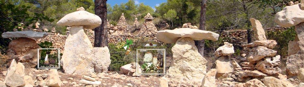 Templo de piedras conocido como Atlantis sa Pedrera cerca cerca d´es Vedra, S Eivissa