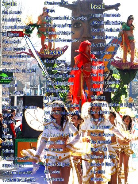 Rita Maestre carnaval Leganés