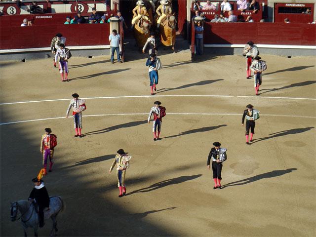 ''Paseillos'' in ''Las Ventas'''