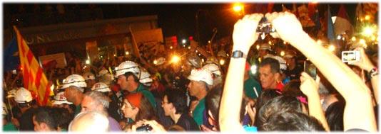 #MarchaNegra la Moncloa
