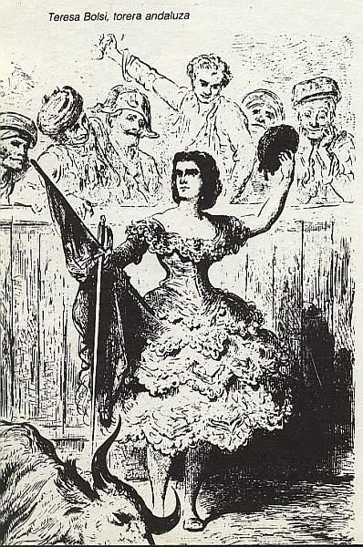 Teresa Bolsi Torer@ andaluz de Gustave Dore 1862