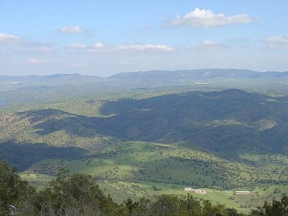 El Valle de Alcudia desde el collado de Rehoyos